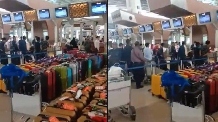 Detik-detik jemaah umrah batal berangkat di Bandara Soekarno-Hatta