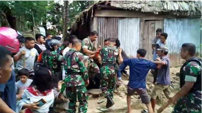 Video Detik-detik Penangkapan Mantan Anggota TNI yang Culik dan Cabuli 6 Bocah SD di Kendari