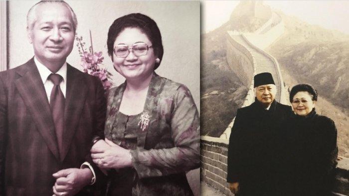 Detik-detik Wafatnya Bu Tien Dibongkar Mantan Kapolri, Celetukan Soeharto Waktu Mancing Jadi Firasat (Istimewa via Tribun Timur)