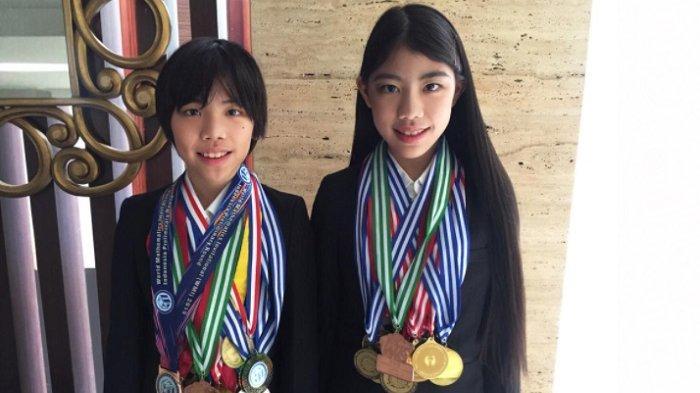 Anak Desainer Kondang Winnie Aoki Berprestasi di Ajang Olimpiade Matematika Internasional