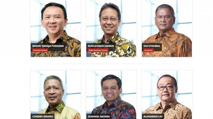 Dewan Komisaris Pertamina yang dipimpin oleh Basuki Tjahaja Purnama (BTP) atau Ahok