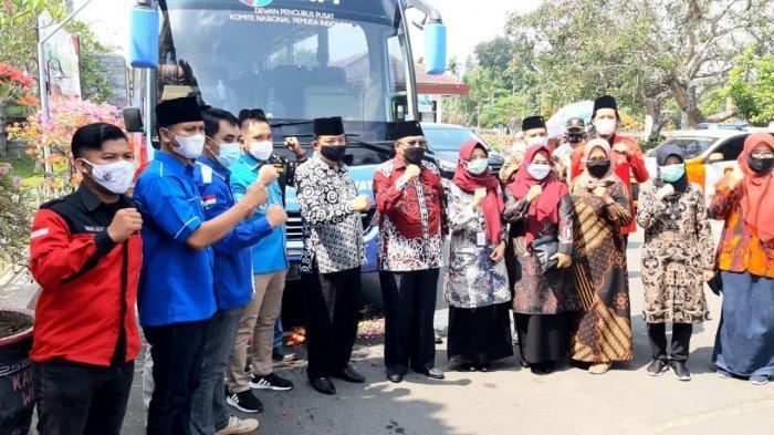 KNPI Luncurkan Bus Pemuda Turangga Seta dari Bumi Proklamator