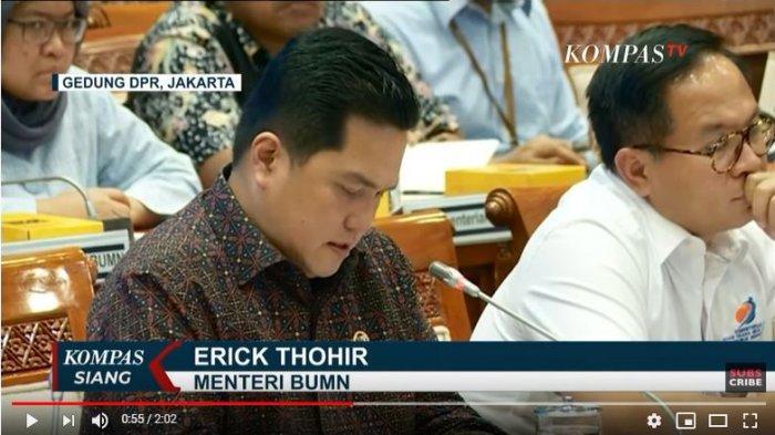 Dewan Perwakilan Rakyat, panitia kerja Jiwasraya memanggil menteri BUMN Erick Thohir. Erick diminta menjelaskan pengembalian dana nasabah Jiwasraya, yang mencapai belasan triliun rupiah.