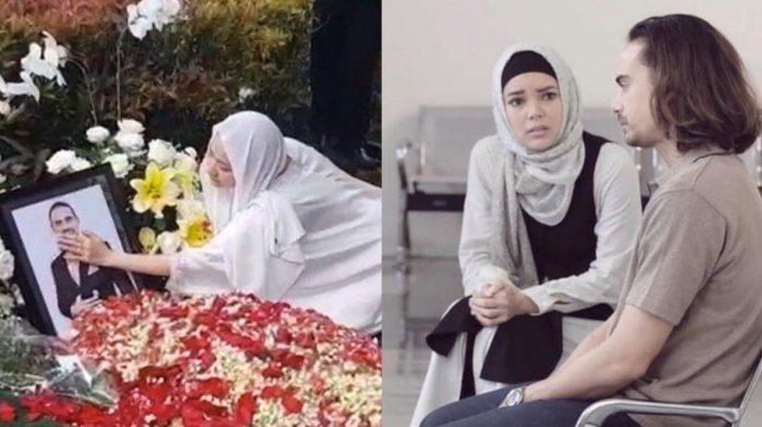 Dewi Sandra Kesal pada Wartawan saat Tahlilan Ashraf Sinclair: Di Mana Etika dan Rasa Kemanusiaanmu?
