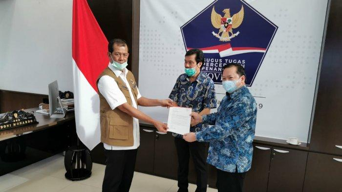 Perusahaan farmasi, Dexa Group memberikan bantuan obat-obatan Hydroxychloroquine, Azithromycin dan Chloroquine kepada Gugus Tugas Percepatan Penanganan Covid-19, RS Rujukan dan RS Pemerintah untuk kebutuhan pengobatan pasien Covid-19 di Indonesia. (ist)