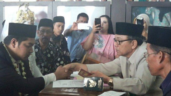 Terjerat Kasus Judi, Dhany Terpaksa Nikahi Misnia di Masjid Mapolres Demak