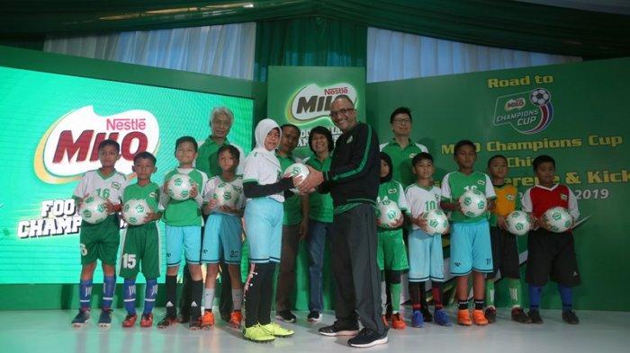 10.000 Siswa Sekolah Dasar Ikuti MILO Football Championship 2019