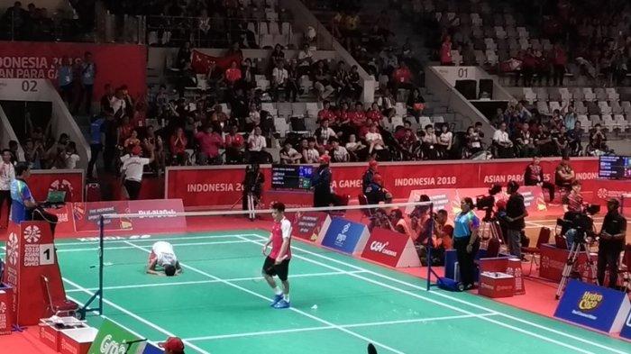 Dheva Anrimusthi Mantap Melangkah ke Final Usai Kandaskan Malaysia di Nomor Tunggal Putra SU5