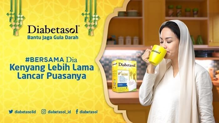 Diabetasol susu wafer sweetener alami