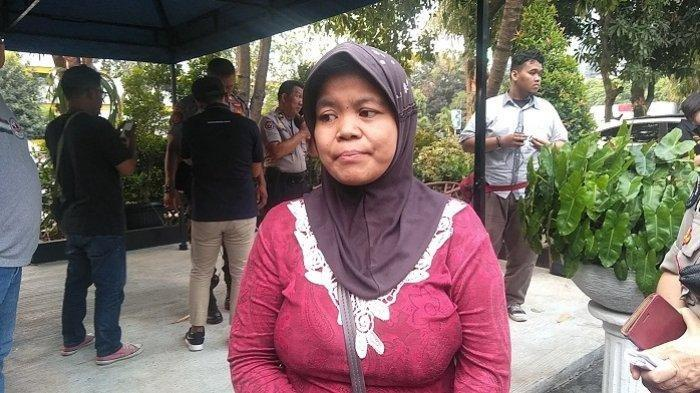 Dian Islamiyati di Mapolda Metro Jaya