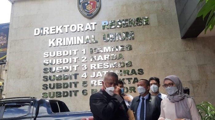 Jadi Korban Mafia Tanah, Dian Rahmiani Datangi Polda Metro Jaya