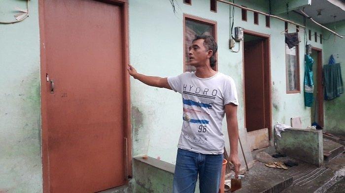 Tetangga korban Wahyu menjelaskan kronologi Mulyono yang dibakar oleh tetangganya sendiri, Selasa (30/3/2021).