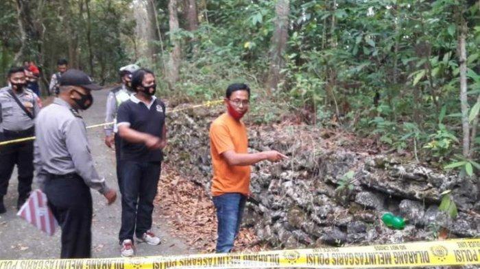 Catur Atminingsih (54) warga asal Banyuwoto, Kapanewon (kecamatan) Sentolo, Kulon Progo, DI Yogyakarta. Ia terbaring lemah di RSUD Wates sepekan lalu.(DOKUMENTASI POLRES KULON PROGO)