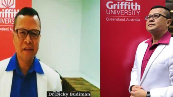 Epidemiolog Griffith University, Dicky Budiman