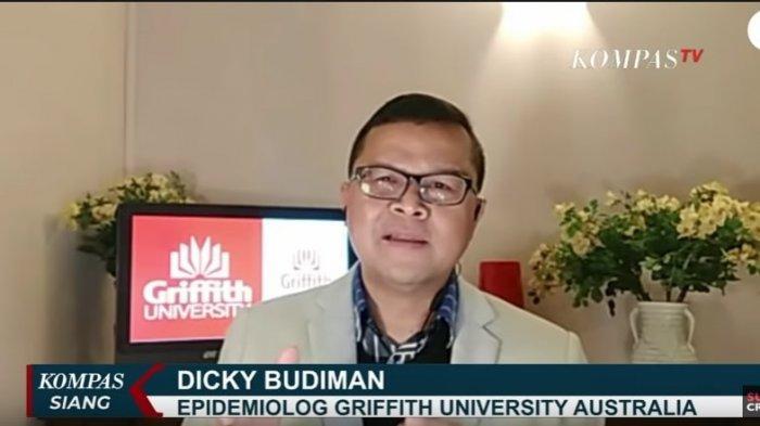 Epidemiolog Griffith University Australia, Dicky Budiman
