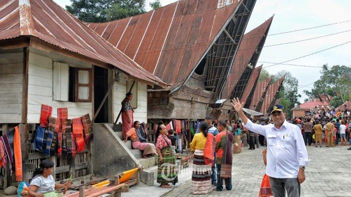 Hari Ini Tiga Menteri Sambangi Destinasi Wisata Baru The Kaldera di Danau Toba