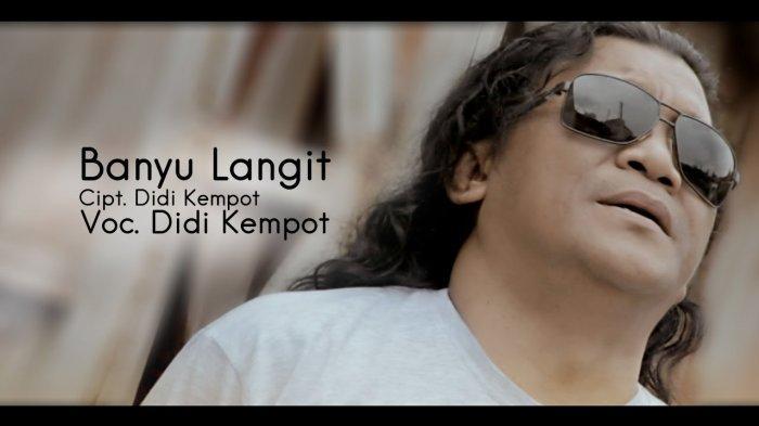 Chord Lagu Banyu Langit - Didi Kempot, Lengkap dengan Lirik dan Video Klipnya