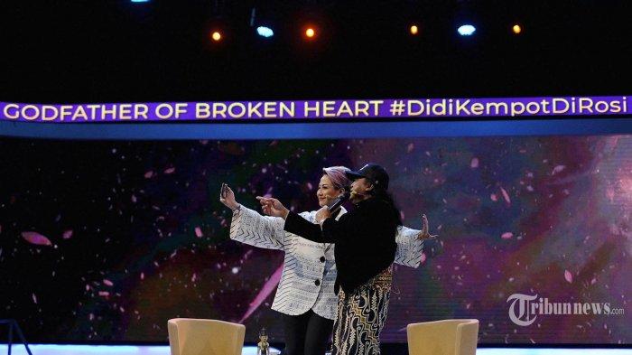 Didi Kempot hadir dalam acara Rosi KompasTV bertajuk