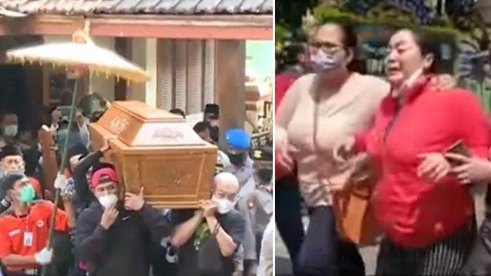 Istri Histeris hingga Nyaris Pingsan Antar Jenazah Didi Kempot, Ganjar Pranowo Ikut ke Pemakaman