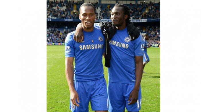 Kabar Chelsea, Terpeleset dan Jatuh, Aksi Romelu Lukaku Diolok-olok Didier Drogba