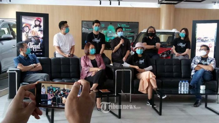 ITDC, IFI Sinema, E-motion Entertainment didukung Wuling Motor meluncurkan teaser film 'AKAD'.