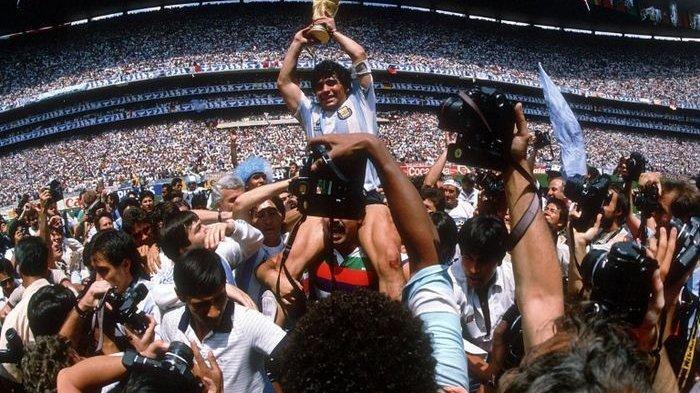 Bukan Batman & Spiderman, Mendiang Maradona jadi Superhero Idaman Pablo Aimar
