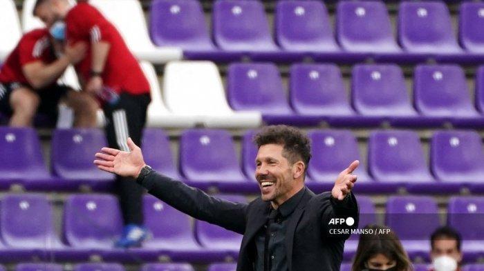 AC Milan vs Atletico Madrid Liga Champions - Sesumbar Simeone Ingin Jegal Rossoneri di San Siro