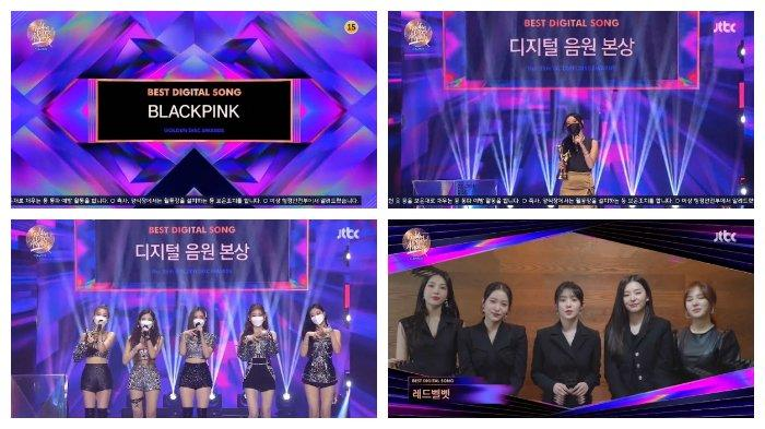 Digital Song Division Bonsang: BLACKPINK, Hwasa, ITZY, Red Velvet