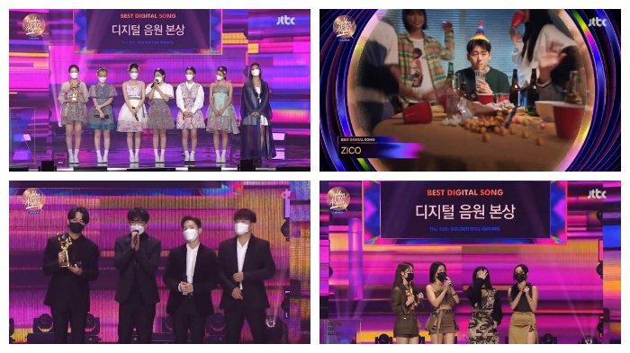 Digital Song Division Bonsang: Oh My Girl, Zico, Noel, MAMAMOO