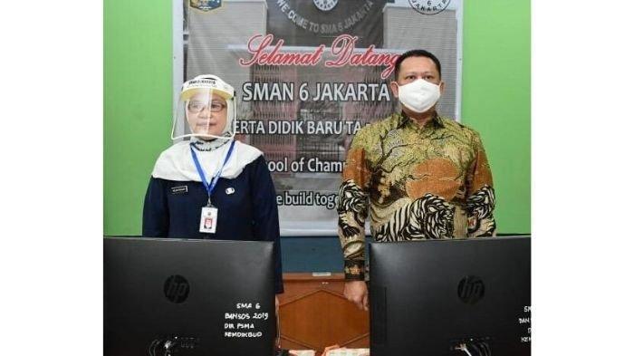 Dihadapan Siswa Baru SMAN 6 Jakarta, Bamsoet Motivasi Siswa Isi Hidup dengan Kegiatan Positif