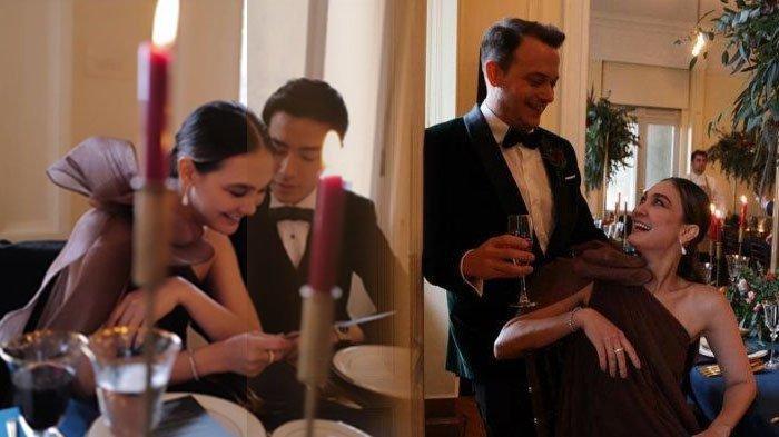 Dikabarkan Pacaran, Potret Kemesraan Luna Maya dan Ryochin Saat Hadiri Kondangan di Yunani