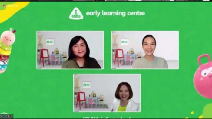 Diskusi virtual yang diselenggarakan oleh Early Learning Centre (ELC), Kamis (9/9/2021).