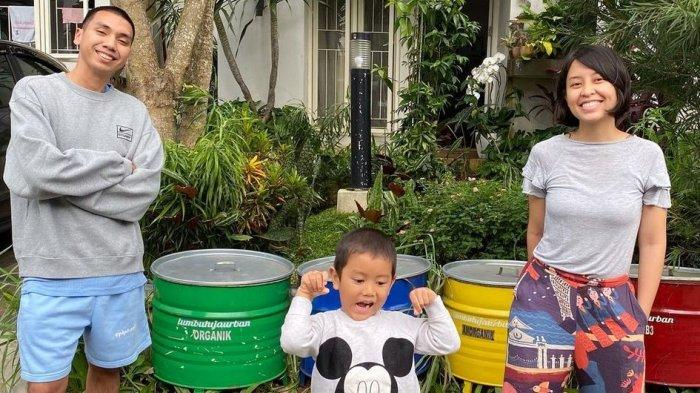 Sontek Cara Dila Hadju dan Rayi Putra Ajarkan Kepedulian Lingkungan pada Anak
