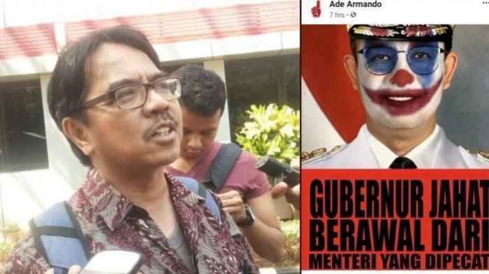 Meme Joker Anies Baswedan Unggahan Ade Armando Dibandingkan dengan Kasus Buni Yani, Apa Bedanya?