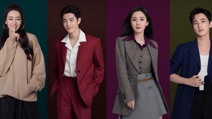 Dilraba, Xiao Zhan, Yang Mi, dan Yang Yang Didapuk Jadi Duta Global Platfrom Streaming Film
