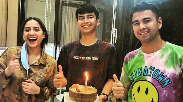 Di Depan Raffi Ahmad, Nagita Slavina Tiba-tiba Gertak Dimas Ahmad: Gak Usah Peluk-peluk Gue, Takut!