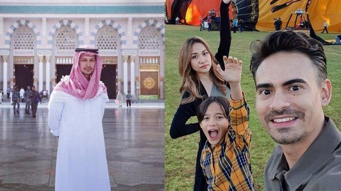 Sedang Umrah saat Ashraf Sinclair Meninggal, Dimas Beck Salat Jenazah dan Berdoa di Madinah