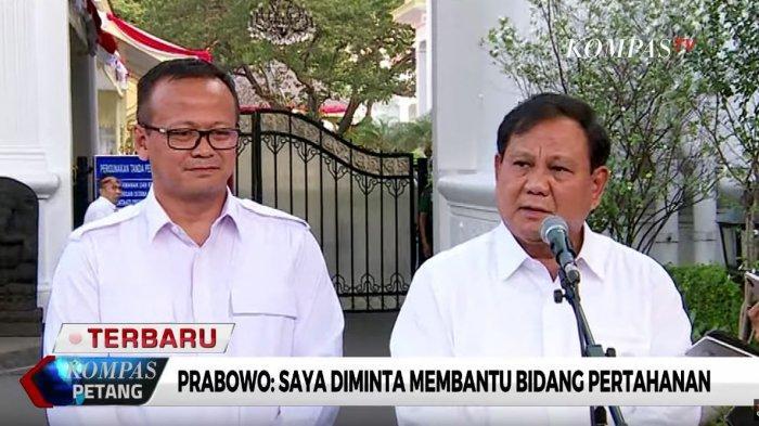 Diminta Bantu Presiden Jokowi di Bidang Pertahanan, Prabowo: Saya Akan Bekerja Sekeras Mungkin