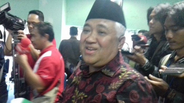 Diajak Jadi Ketua Tim Kampanye Nasional Jokowi-Ma'aruf, Din Syamsudin Menolak