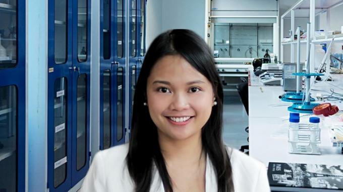 Staf Pengajar Fakultas Biomedicine, Indonesia International Institute for Life-Sciences (i3L) Dina Atrasina Satriawan.