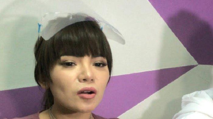 Dinar Candy ketika ditemui di gedung Trans TV, Jalan Kapten Tendean, Mampang Prapatan, Jakarta Selatan, Kamis (24/9/2020).