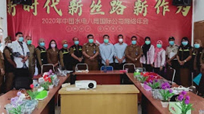Dinkes Langkat Cek Kesehatan Pekerja Asing Asal China di PLTU Sumatera Utara II