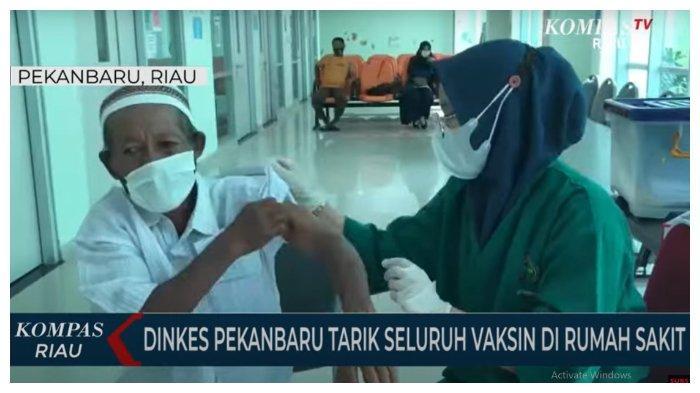 Dinkes Pekanbaru Tarik Vaksin Covid-19 dari RS, DPRD Minta Masyarakat Tak Perlu Panik