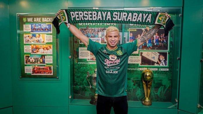Diogo Campos, Pemain Asing anyar Persebaya Surabaya Jelang Lawan PSIS Semarang.
