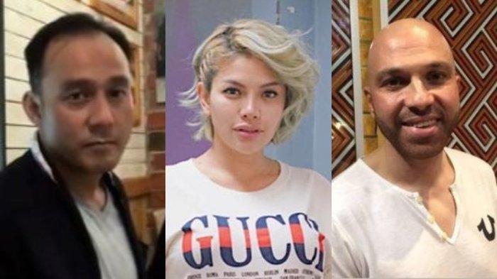 Dipo Latief, Nikita Mirzani dan Sajad Ukra