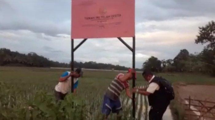 Terkait Korupsi Asabri, 410 Bidang Tanah Milik Benny Tjokrosaputro Dipasangi Tanda Penyitaan