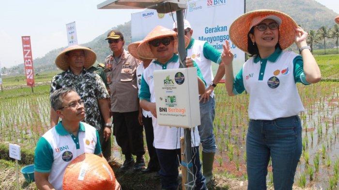 Gerakan Menyongsong Pertanian 4.0, BNI Ajak Petani Terapkan Smartfarming