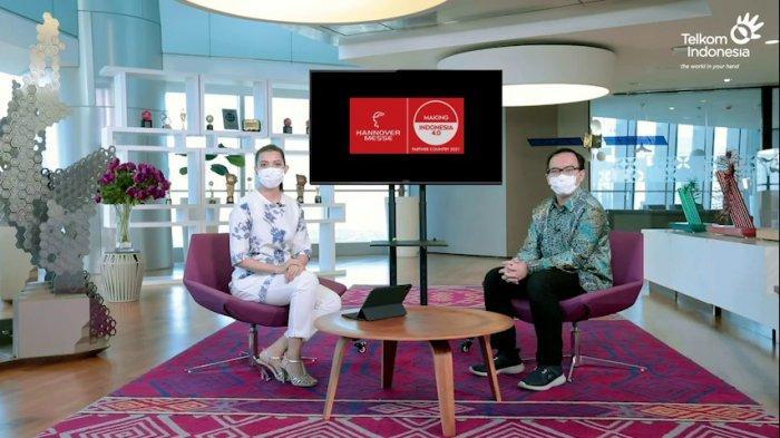 Hannover Messe 2021, Telkom Optimis Dukung Kedaulatan Digital Indonesia