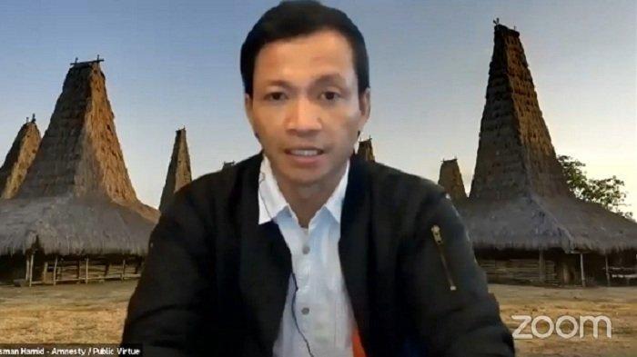 Amnesty International Indonesia Verifikasi 51 Video Insiden Kekerasan Saat Demo Tolak UU Ciptaker