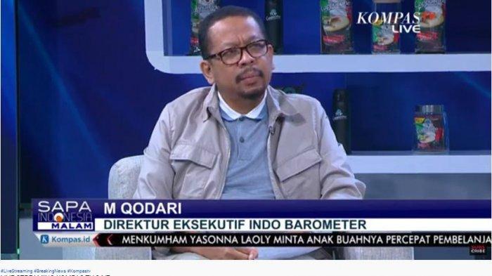 Direktur Eksekutif Indo Barometer, M Qodari, memberikan tanggapan terkait kemarahan Presiden Joko Widodo (Jokowi) atas kinerja para menterinya.